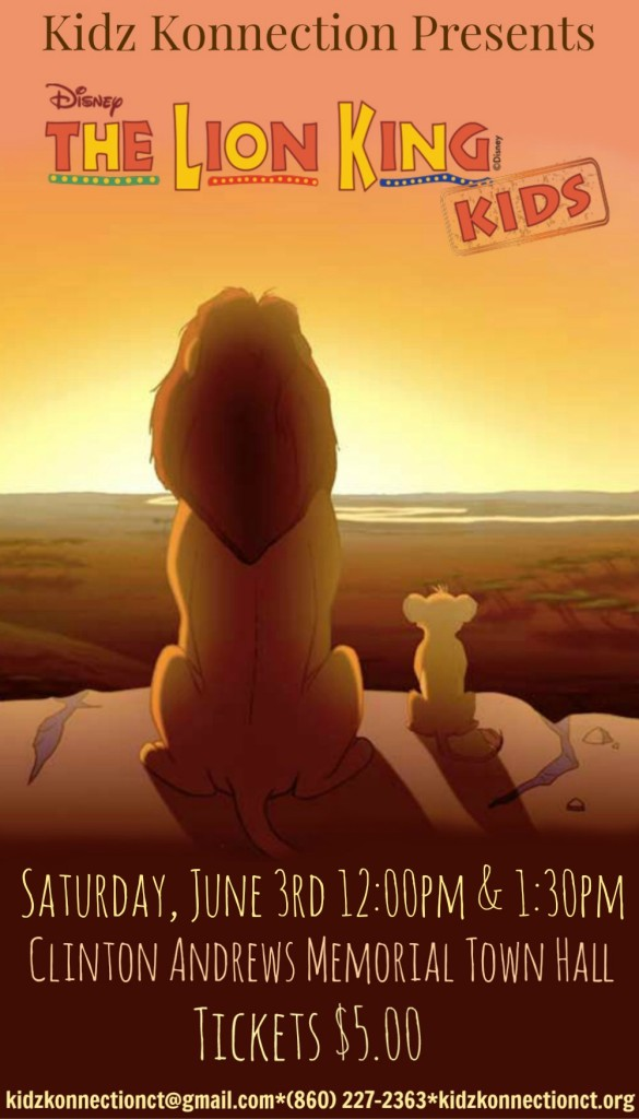 Lion King Kids Poster